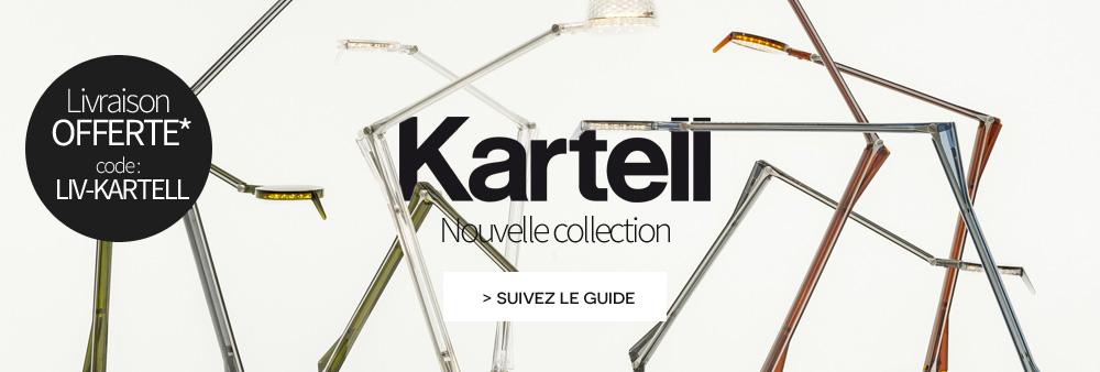 Kartell nouvelle collection livraison offerte