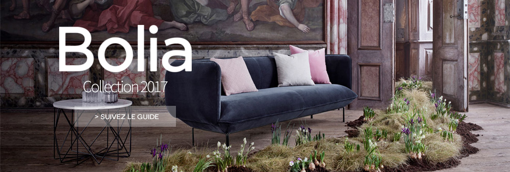 Bolia - nouvelle collection