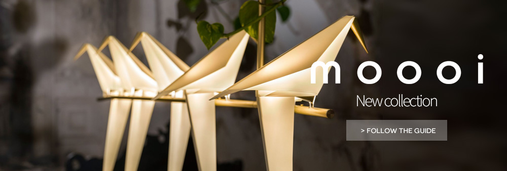 Moooi lighting designer miyake yamac perch collection