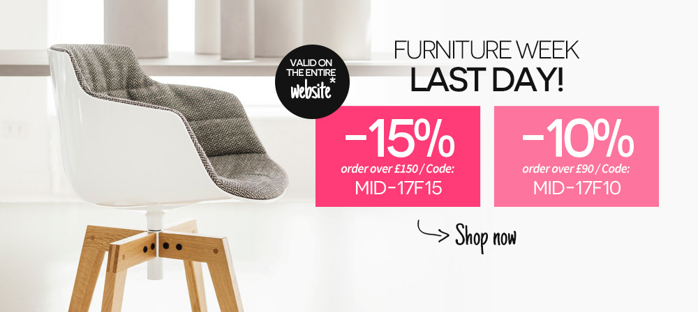 Furniture week renew your interior on Made In Design