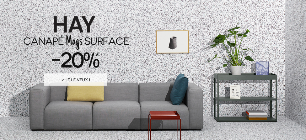 Hay : Canapé Mags Surface