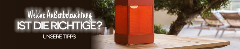 Welche Außenbeleuchtung ist die Richtige ?