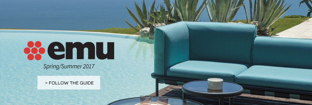 Emu italian outdoor  on made in design for your garden or patio