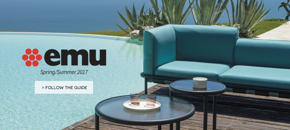EMu italian outdoor furniture on Made In Design