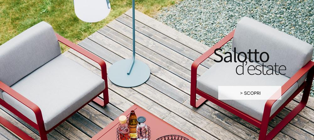 Made in Design - arredamento salotto d'estate