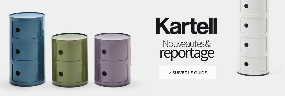 Kartell reportage Nouveautés