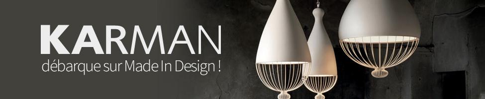 Karman débarque sur Made In Design