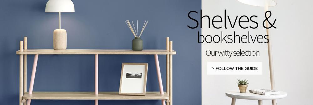bookshelves and shelf by designer creation on made in design