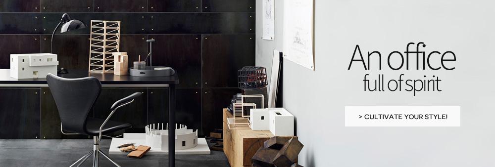 office full of spirit made in design
