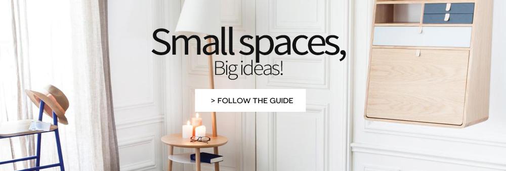 small spaces big ideas furnish small area design