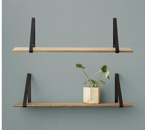 Set of 2 shelf brackets