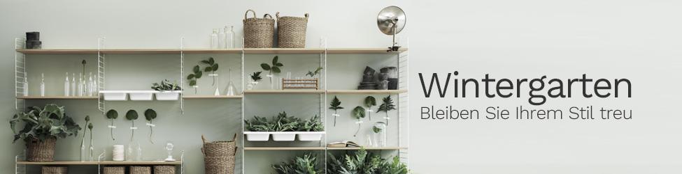 Wintergarten: Bleiben Sie Ihrem Stil treu