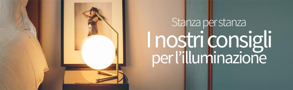 Stanza per stanza: I nostri consigli per l'illuminazione