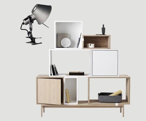 Abbellite la vostra libreria, optate per un duo di lampade a pinza