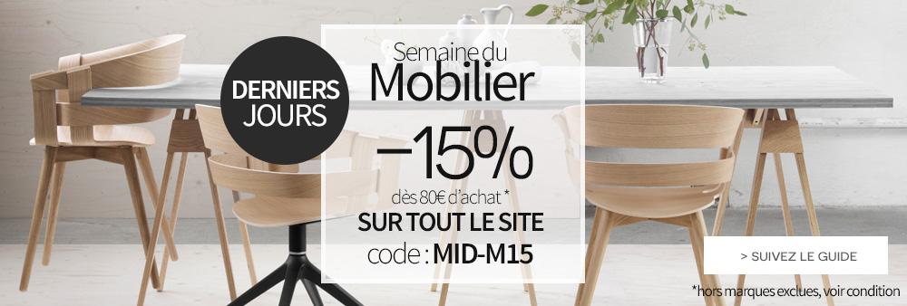 Selection de mobilier design pour la rentr e made in design - Semaine du mobilier chez made in design jusqua ...