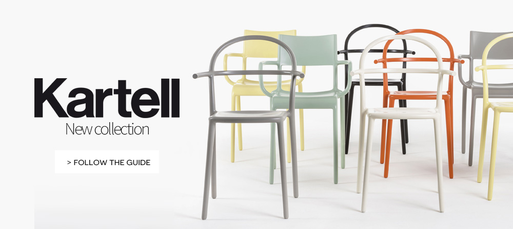 Kartell italian design new collection