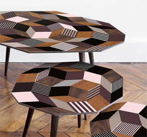 Table Penrose Fancywood