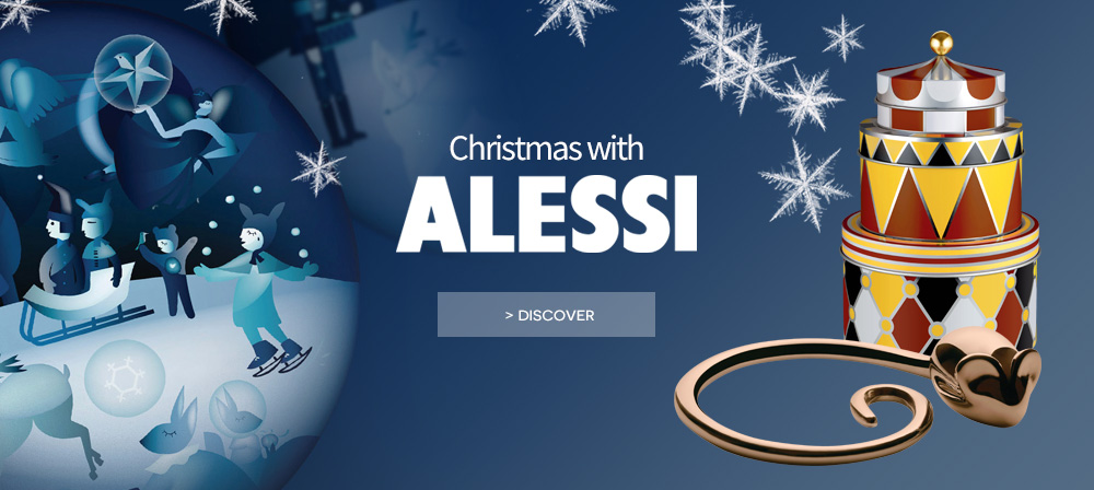 Alessi christmas decoration circus collection marcel wanders design