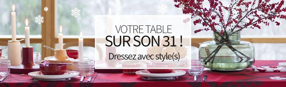 Votre table Sur son 31