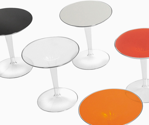 Tip Top Glass Table