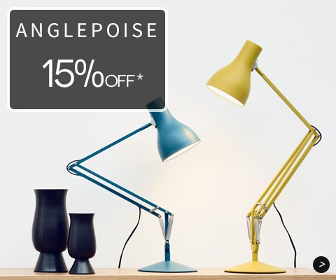 Anglepoise 15% off