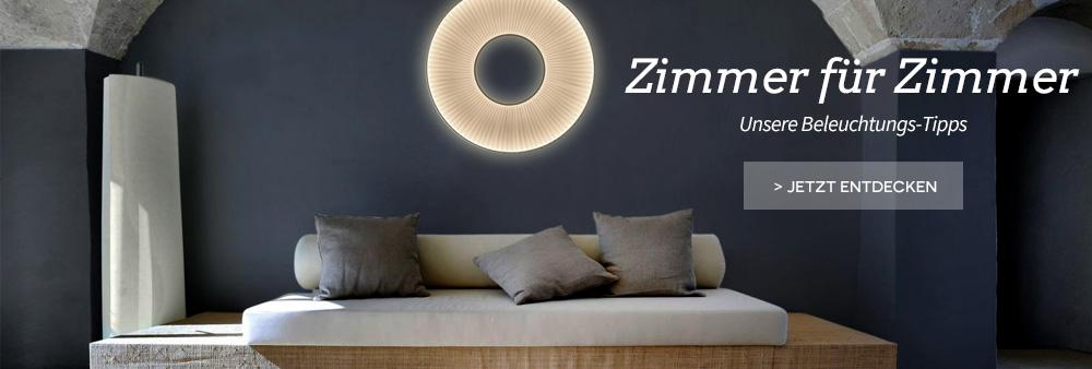 Zimmer für Zimmer: Unsere Beleuchtungs-Tipps