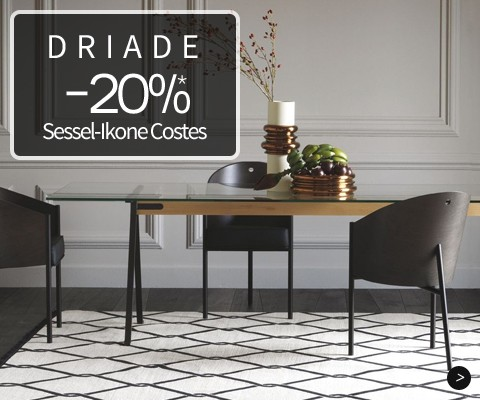Driade -20%*: Sessel-Ikone Costes