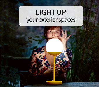 Light up your exterior spaces