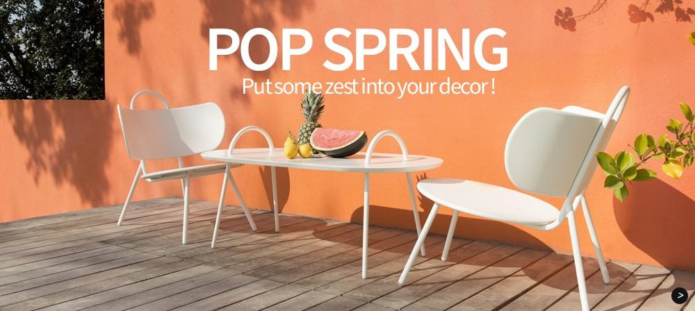 Pop Spring: Put some zest into your decor!