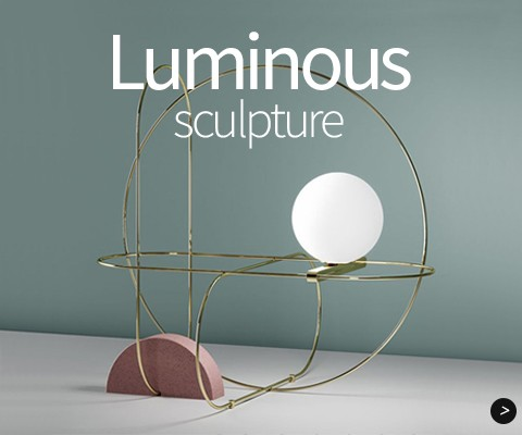 Luminous sculpture