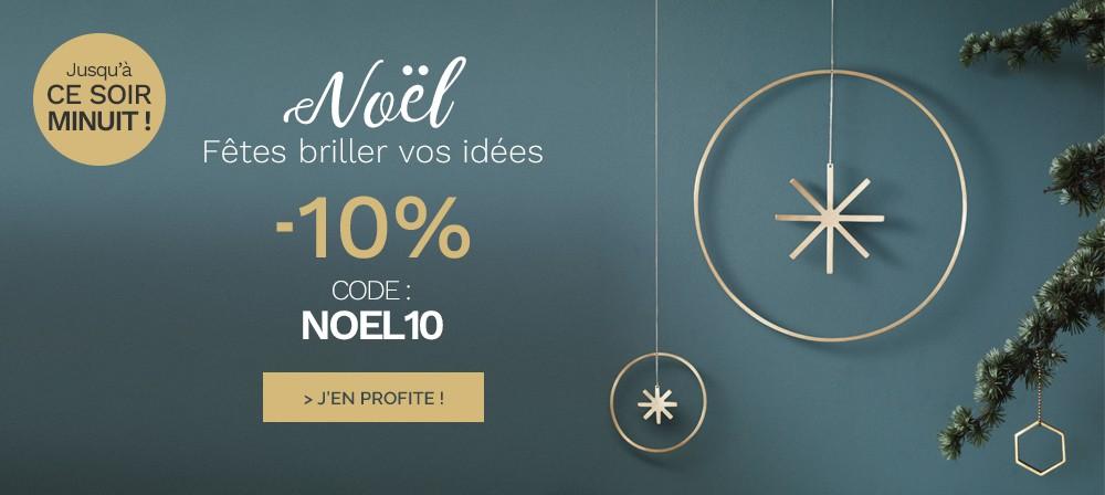 NOEL10 -10% sur le site