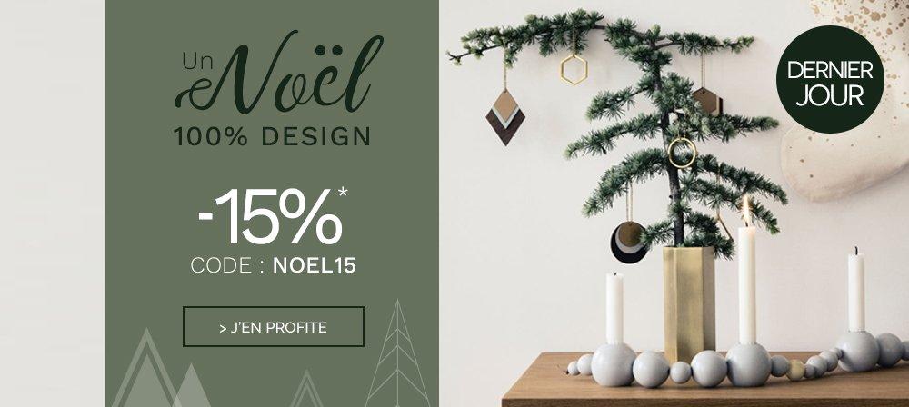 NOEL15 -15% sur le site