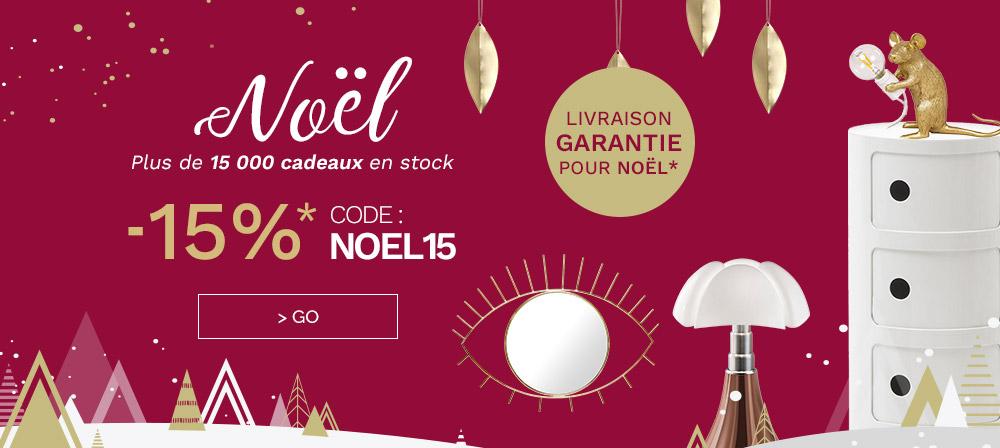 -15% sur le site - code NOEL15