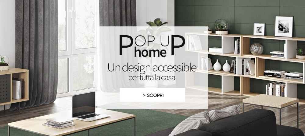 Made in Design -   Collezione Pop Up home