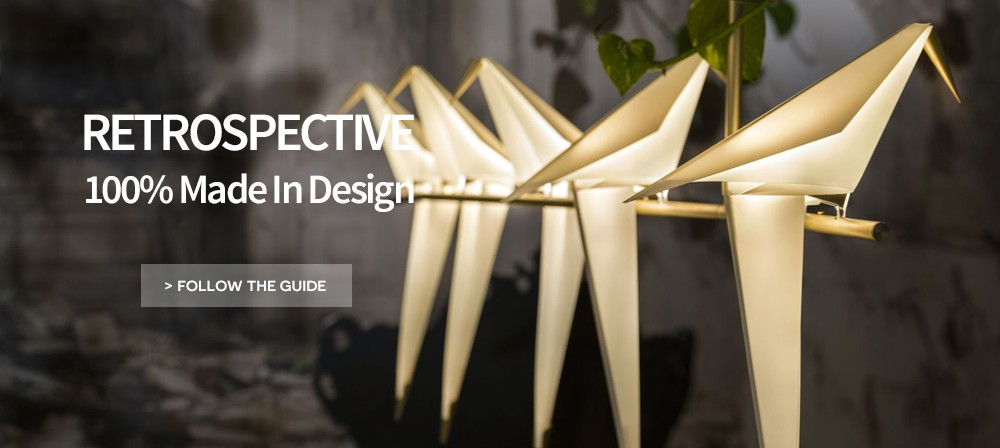 retrospective made in design trends furniture and lighting