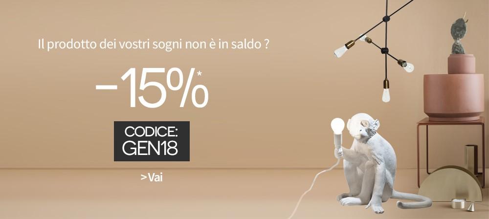 Made in Design - promozione 15%