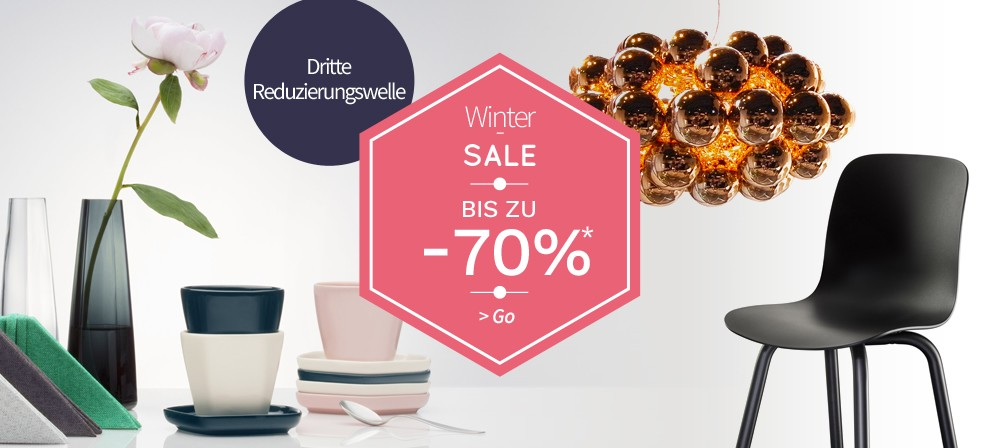 winter sale Möbel Design angebote - Made in Design