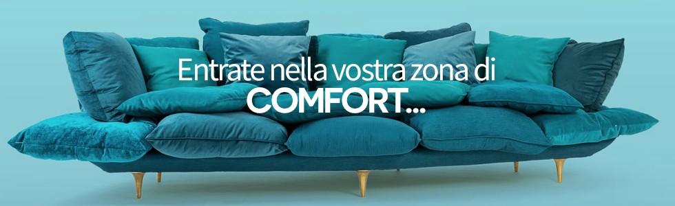Entrate nella vostra zona di comfort…
