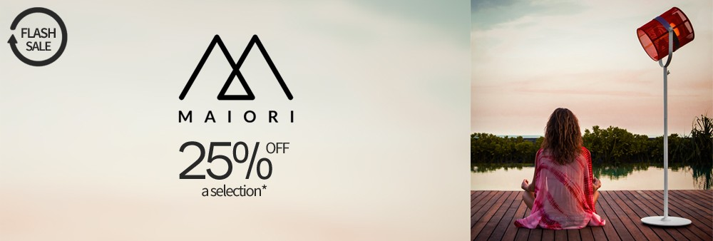 Maiori Flash Sale 25% off a selection*