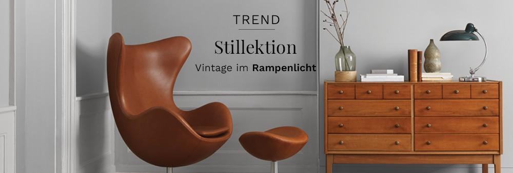 Trend - Stillektion Vintage im Rampenlicht