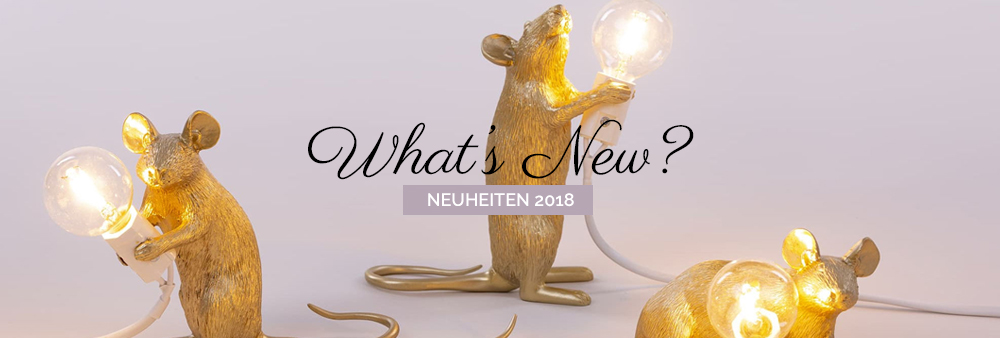 What's new - Neuheiten 2018