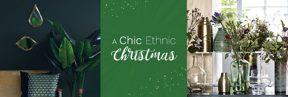 A Chic Ethnic Christmas