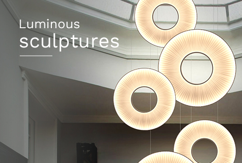 Luminous sculptures