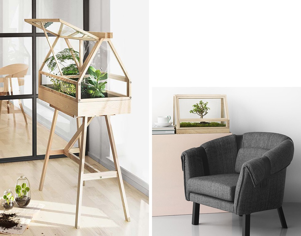 Greenhouse Terrarium and Grow X-Large Greenhouse by Design House Stockholm
