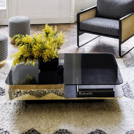 The lounge coffee table