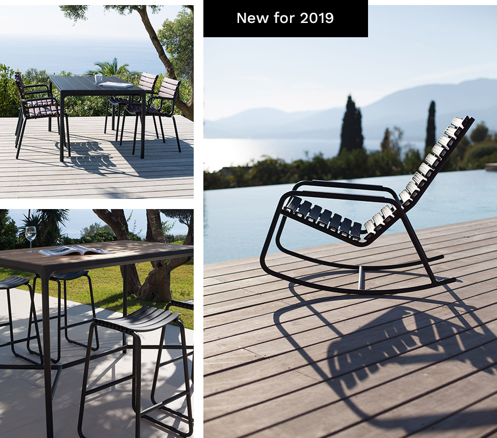 HOUE Scandinave garden furniture New for 2019