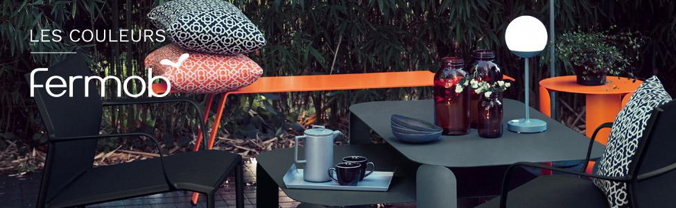 Fermob : couleurs et associations pour un mobilier de jardin ...