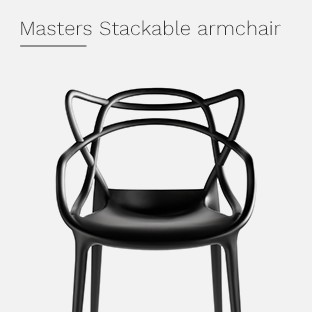 Masters Stackable armchair