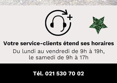 Votre service-clients étend ses horaires