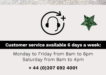 Customer service available 6 days a week